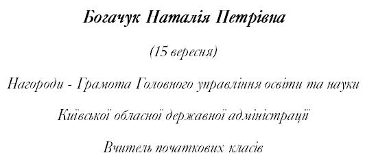 Bogachuk Богачук Наталія Петрівна