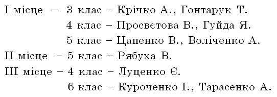 Grynvich Результативність 2012 2013 н. р.