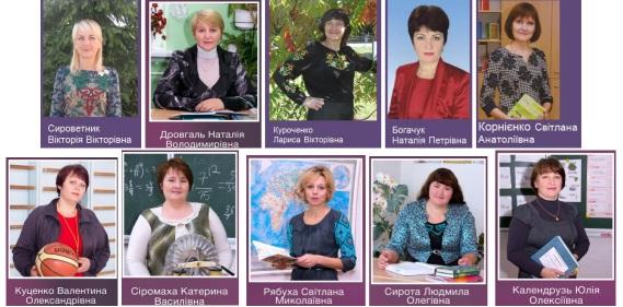 список членів МО КК1 МО класних керівників