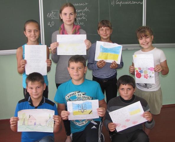 IMG 4242 Всеукраїнська акція Лист пораненому в нашій школі
