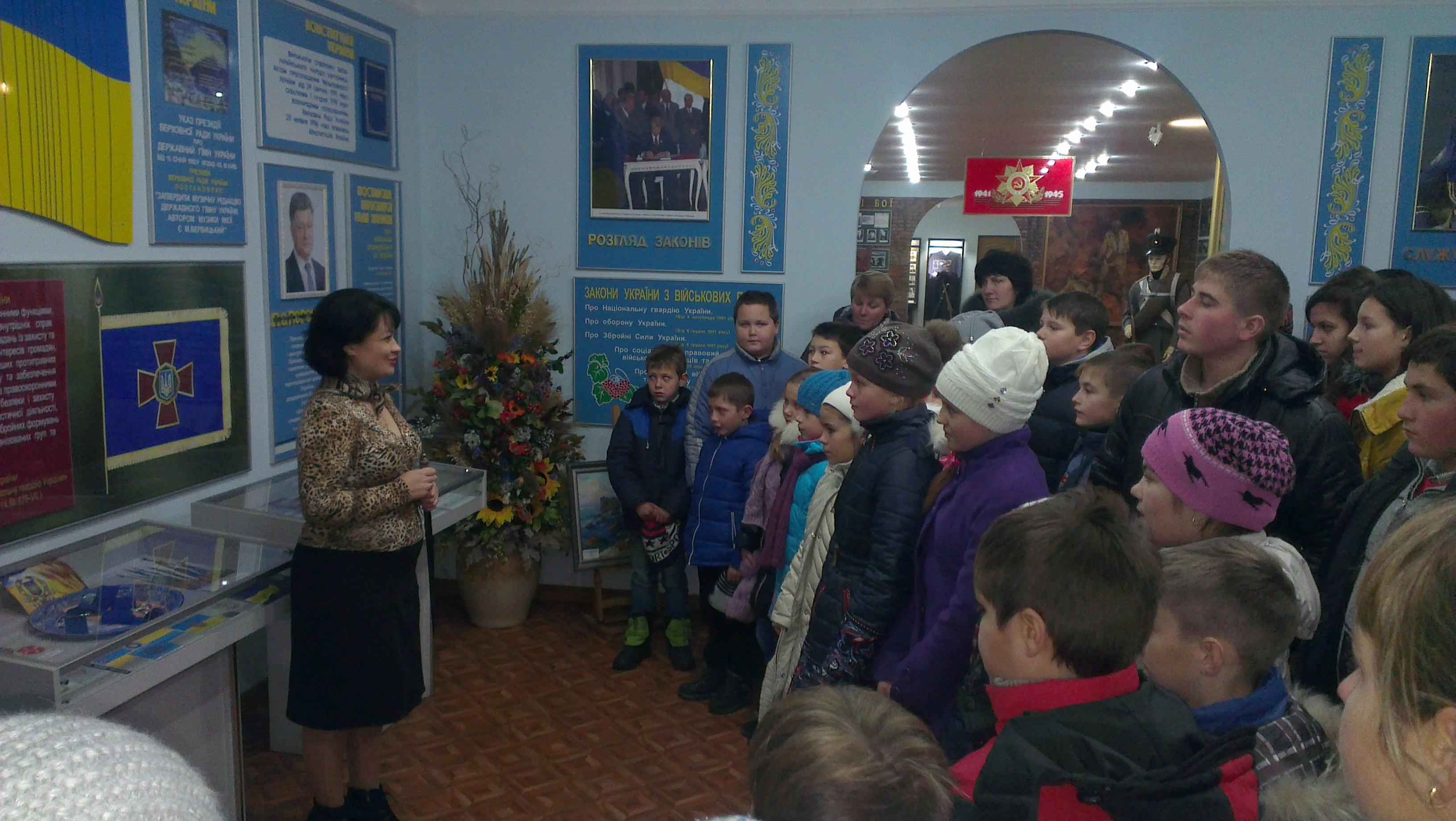 IMAG1373 Відвідування музею Національної гвардії України