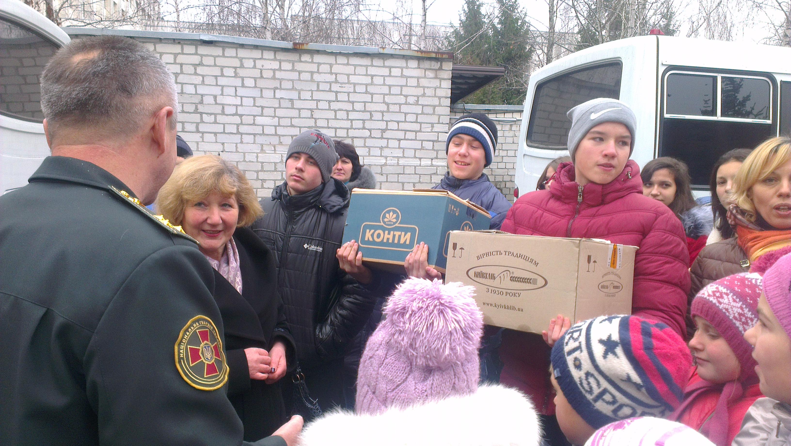 IMAG1386 Відвідування музею Національної гвардії України
