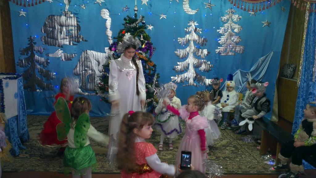 IMAG1835 1024x577 Новорічне свято найменших вихованців НВК