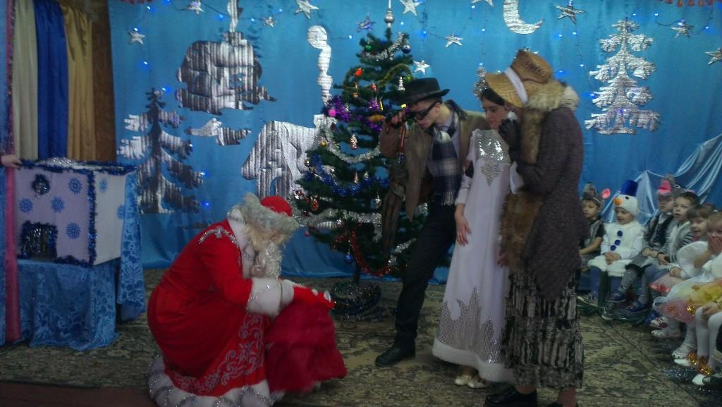 IMAG1852 1024x577 Новорічне свято найменших вихованців НВК