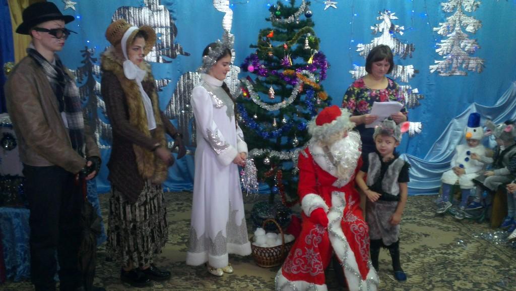 IMAG1867 1024x577 Новорічне свято найменших вихованців НВК