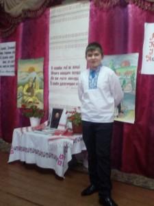 Валерій e1488482202548 225x300 Конкурс читців творів Тараса Шевченка