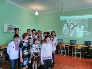 Олександра e1488567996620 300x224 Онлайн конференція зі школою побратимом з Волновахи