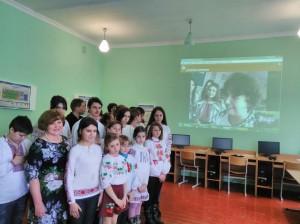 1 300x224 Онлайн конференція зі школою побратимом з Волновахи